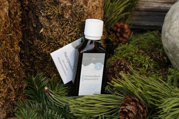 Saunaaufguss Winterfrisch 50 ml - Altes Wissen aus den Bergen