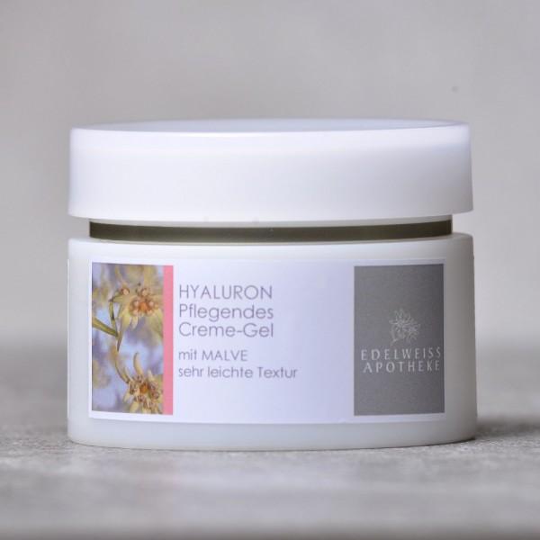 Hyaluron - Pflegendes Creme-Gel mit Malve