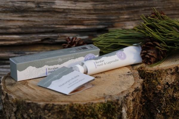 Boralan Hand- & Lippensalbe 20 g - Altes Wissen aus den Bergen