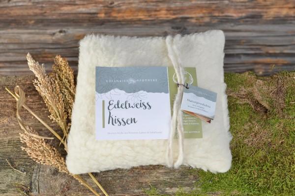 Edelweiss-Kissen - Altes Wissen aus den Bergen